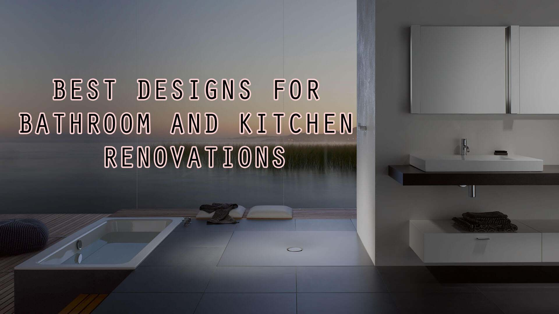 best renovation design of bathroom and kitchen